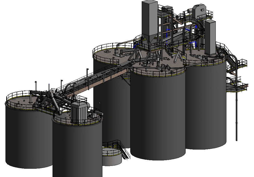 3d Model of Factory Equipment