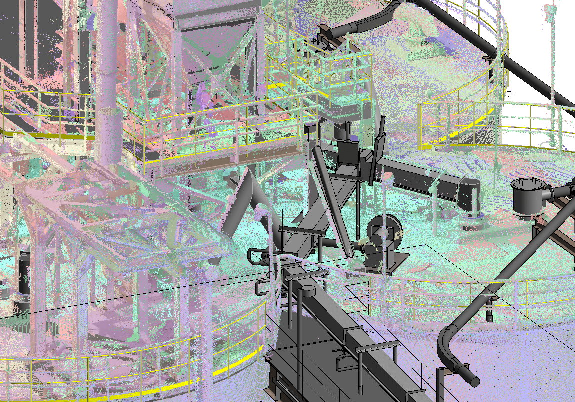 Point Cloud with exist model